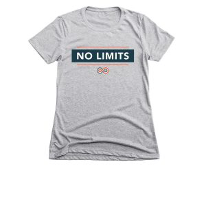 No Limits Block Text Ladies