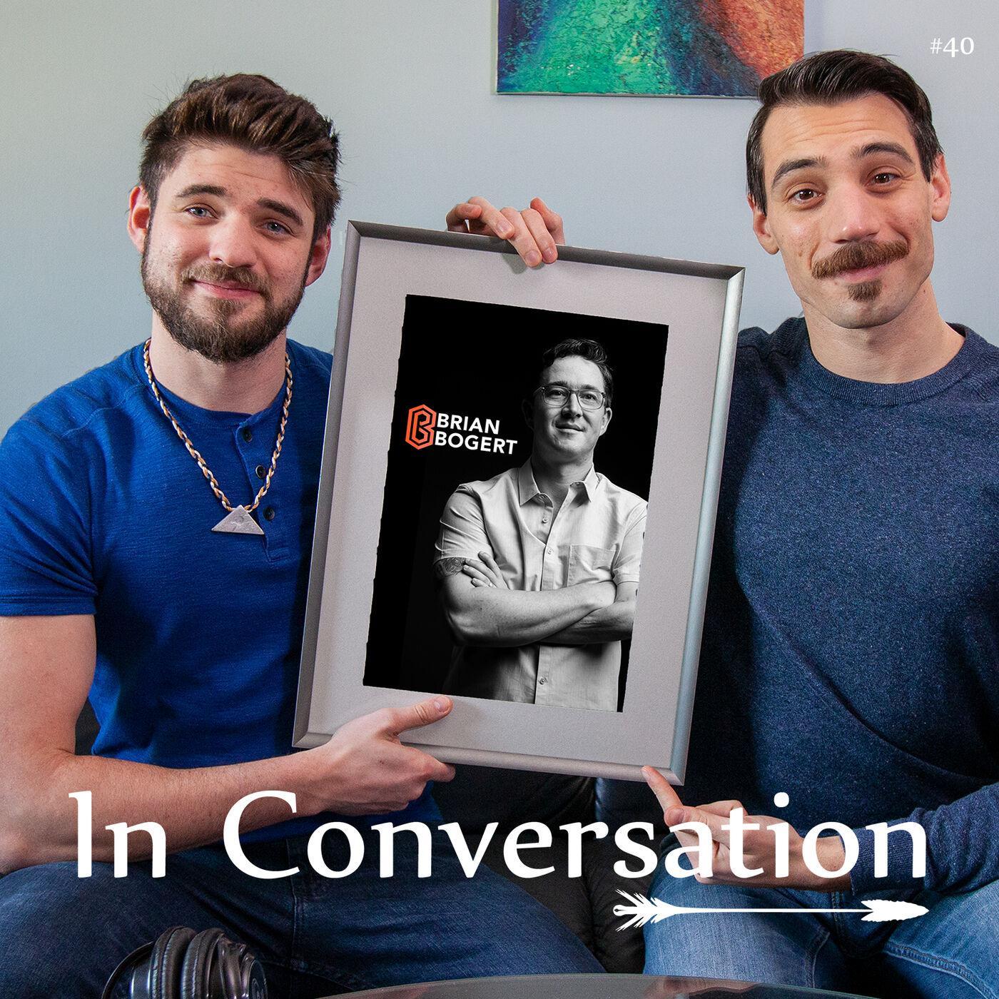 In Conversation - Brian Bogert