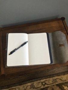 Inside of Journal